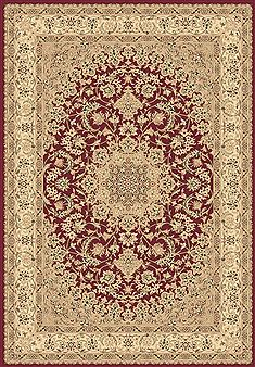 "Dynamic LEGACY Red 5'3"" X 7'7"" Area Rug LE6958000300 801-70487"