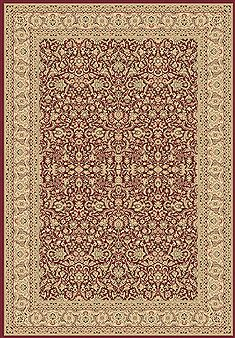 "Dynamic LEGACY Red 6'7"" X 9'6"" Area Rug LE71058004300 801-70516"