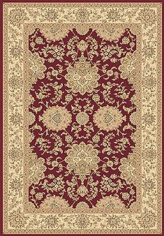 "Dynamic LEGACY Red 6'7"" X 9'6"" Area Rug LE71058019330 801-70525"