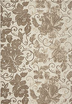 "Dynamic MYSTERIO White 2'0"" X 3'11"" Area Rug MS241201101 801-70844"