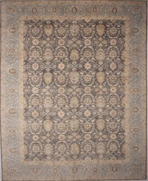 "Ziegler Beige Hand Knotted 11'7"" X 14'5""  Area Rug 254-72523"