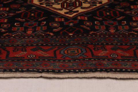 Persian Koliai Red Rectangle 6x9 Ft Wool Carpet 74326
