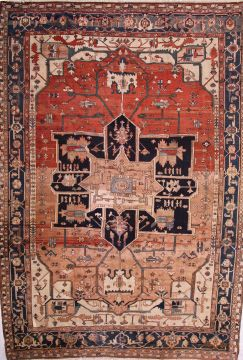Serapi Hand Knotted Area Rugs
