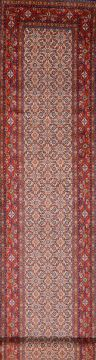 Persian Mood Red Runner 13 to 15 ft Wool Carpet 74873