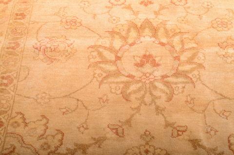 Persian Moshk Abad Beige Rectangle 11x16 Ft Wool Carpet
