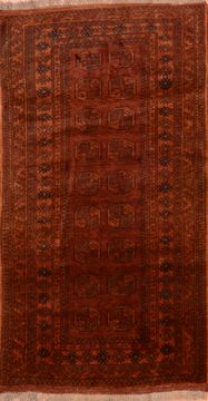 "Khan Mohammadi Brown Hand Knotted 3'5"" X 6'3""  Area Rug 100-76134"
