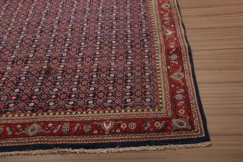 Persian Arak Multicolor Runner 6x9 Ft Wool Carpet 76161