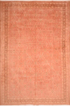 "Qashqai Orange Hand Knotted 10'2"" X 15'6""  Area Rug 100-76554"
