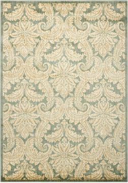 "Nourison ARISTO Green 3'9"" X 5'9"" Area Rug 99446240804 805-96248"