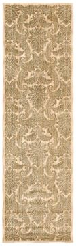 Nourison ARISTO Brown Runner 6 to 9 ft polyester Carpet 96252