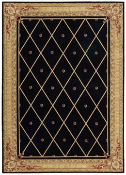 "Nourison Ashton House Black 7'9"" X 10'10"" Area Rug  805-96286"