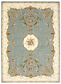 "Nourison BORDEAUX Blue 9'10"" X 13'2"" Area Rug 99446263834 805-96690"