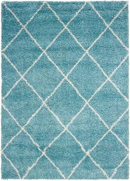 "Nourison Brisbane Blue 5'0"" X 7'0"" Area Rug  805-96698"