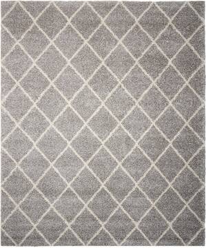 "Nourison Brisbane Grey 5'0"" X 7'0"" Area Rug  805-96719"