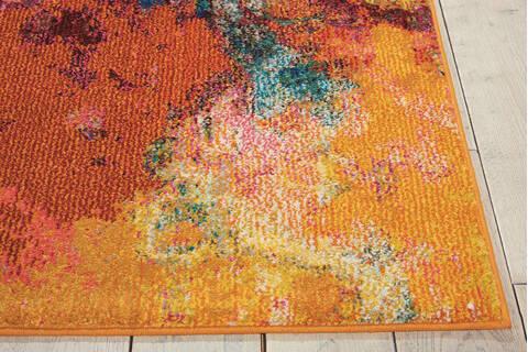 Nourison Celestial Multicolor Rectangle 5x7 Ft