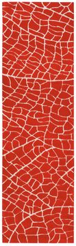 "Nourison ESCALADE Red Runner 2'3"" X 8'0"" Area Rug 99446137562 805-97687"