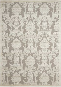 "Nourison GRAPHIC ILLUSIONS Grey 5'3"" X 7'5"" Area Rug 99446117922 805-98354"