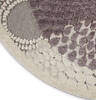 Nourison Graphic Illusions Grey Round 53 X 53 Area Rug  805-98382 Thumb 6