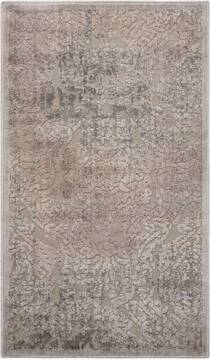 "Nourison Graphic Illusions Grey 2'3"" X 3'9"" Area Rug  805-98459"