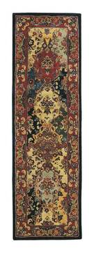 "Nourison India House Multicolor Runner 2'3"" X 7'6"" Area Rug  805-98992"
