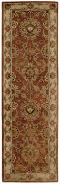 "Nourison Jaipur Red Runner 2'4"" X 8'0"" Area Rug  805-99156"