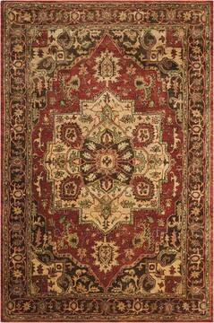 "Nourison Jaipur Red 3'9"" X 5'9"" Area Rug  805-99312"