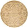 Nourison JAIPUR Yellow Round 80 X 80 Area Rug 99446192714 805-99451 Thumb 2