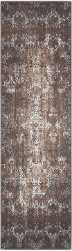 "Nourison Karma Brown Runner 2'2"" X 7'6"" Area Rug  805-99659"