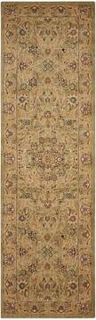 "Nourison Lumiere Green Runner 2'3"" X 7'9"" Area Rug  805-99674"