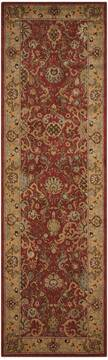 "Nourison Lumiere Red Runner 2'3"" X 7'9"" Area Rug  805-99684"