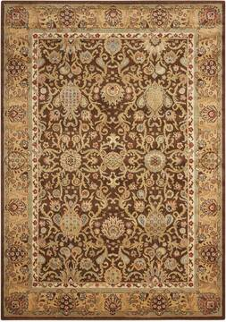 "Nourison Lumiere Brown 7'9"" X 10'10"" Area Rug  805-99692"