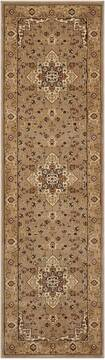 "Nourison Antiquities Beige Runner 2'2"" X 7'6"" Area Rug  805-99868"
